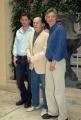 OMEGA/Gioia Botteghi 15/06/07Presentazione a Roma del film Lucky you nelle foto: il regista Curtis Hanson Erica Bana Robert Duvall