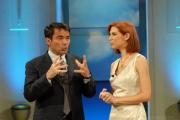 OMEGA/Gioia Botteghi 25/06/07Uno Mattina estate,  i due conduttori Veronica Maya e Duilio Giammaria
