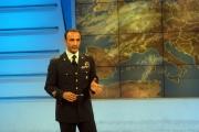 OMEGA/Gioia Botteghi 25/06/07Uno Mattina estate, il metereologo Maggiore Guido Guidi
