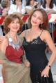 OMEGA/Gioia Botteghi 2/07/07Tappeto Arancio della prima serata del Roma Fiction Fest, nelle foto: Maria rosaria Omaggio e Stefania Casini