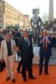 OMEGA/Gioia Botteghi 2/07/07Tappeto Arancio della prima serata del Roma Fiction Fest, nelle foto: Piero Marrazzo con Laudadio