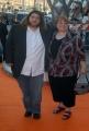 OMEGA/Gioia Botteghi 2/07/07Tappeto Arancio della prima serata del Roma Fiction Fest, nelle foto: Jorge Garcia con la sorella (LOST)