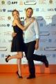 OMEGA/Gioia Botteghi 2/07/07ROMA FICTION FEST presentazione del film MA IL CIELO é SEMPRE PIU BLU, nelle foto: Laura Chiatti con Claudio Santamaria