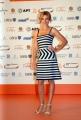 OMEGA/Gioia Botteghi 2/07/07ROMA FICTION FEST presentazione del film MA IL CIELO é SEMPRE PIU BLU, nelle foto: Kasia Smutniak con un vestito di Armani