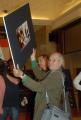 OMEGA/Gioia Botteghi 3/07/07Roma Fiction Fest presentazione del fil tv CARAVAGGIO, nelle foto: Vittorio Storaro che ha curato la fotografia del film si prodiga nelle immagini per curare la fotografia per l'intervista a Ida Di Benedetto produttrice del film