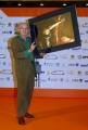 OMEGA/Gioia Botteghi 3/07/07Roma Fiction Fest presentazione del fil tv CARAVAGGIO, nelle foto: Vittorio Storaro che ha curato la fotografia del film