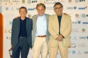 OMEGA/Gioia Botteghi 5/07/07Roma Fiction Fest ospiti del convegno su SKY, nelle foto:Maurizio Totti, Michele Placido, Giancarlo De Cataldo