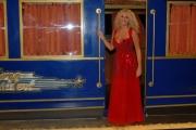 15/09/07 Gioia Botteghi/OMEGA Prima puntata di IL TRENO DEI DESIDERI condotto da Antonelle Clerici nelle foto con il direttore di raiuno Fabrizio Del Noce