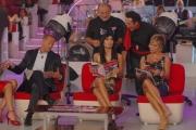 30/09/07 OMEGA/Gioia BotteghiPrima puntata di Buona Domenica , nelle foto Bettarini Gregoraci C. Russo Braita