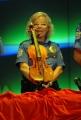 7/10/07 Prima puntata di DOMENICA IN, nelle foto: Pippo Baudo e il Ministro Rutelli l'appello per restaurare il violinio Stradivari
