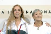 23/10/07Festa del cinema di Roma presentazione dello speciale su Totò nelle foto:  Liliana e Diana de Curtis