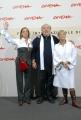 23/10/07Festa del cinema di Roma presentazione dello speciale su Totò nelle foto: Lino Banfi, Liliana e Diana de Curtis