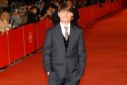 23/10/07 Festa del cinema di Roma presentazione del film LIONS FOR LOMBS nelle foto: Tom Cruise