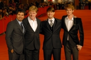 23/10/07 Festa del cinema di Roma presentazione del film LIONS FOR LOMBS nelle foto: Tom Cruise e Robert Redforde con Michael pena e Andrew Garfield