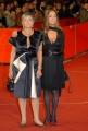 23/10/07Festa del cinema di Roma, tappeto rosso, nelle foto:  Liliana e Diana De Curtis