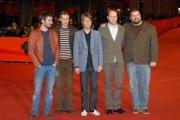 23/10/07 Festa del cinema di Roma presentazione del film HEIMA nelle foto il gruppo musicale Islandese dei Sigur Ros con il regista Deam Deblois