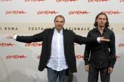 24/10/07 festa del cinema di Roma, presentazione del film Zero - nella foto :  da sinistra i registi Franco Fracassi e Francesco Trento