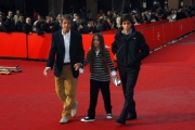 26/10/07 Festa del cinema di Roma presentazione del film COME D'INCANTO Vanzina con figlia e nipote