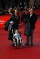 26/10/07 Festa del cinema di Roma presentazione del film COME D'INCANTO Saverio Vallone con la famiglia
