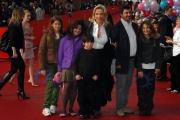 26/10/07 Festa del cinema di Roma presentazione del film COME D'INCANTO Simona Izzo e i suoi nipoti