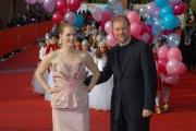 26/10/07 Festa del cinema di Roma presentazione del film COME D'INCANTO il regista kevin Lima, Amy Adams