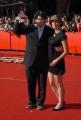 28/10/07 Festa del cinema di Roma nelle foto i premiati: Miglior Film al regista Jason Reitman con la sceneggiatrice Diablo Codi