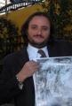 20/11/07 presentazione del film documentario CIVICO ZERO nelle foto: Il produttore Roberto Andreucci che anche un attore comico,