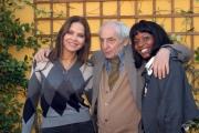 20/11/07 presentazione del film documentario CIVICO ZERO nelle foto: Ornella Muti, Letizia Sedrick,  Francesco Maselli,