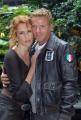 23/11/07Presentazione della fiction DONNA DETECTIVE nella foto Lucrezia Lante Della Rovere Kaspar Capparoni