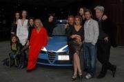 23/11/07Presentazione della fiction DONNA DETECTIVE nella foto il cast con la regista Cinzia TH Torrini