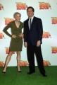 4/12/07 presentazione del fil d'animazione BEE MOVIE nelle foto le voci dei protagonisti Jerry Seinfeld e Renee Zellweger