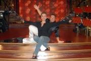 27/09/07 Conf. stampa della trasmissione di raiuno BALLANDO CON LE STELLE nelle foto: Milly Carlucci e Paolo Belli