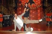 27/09/07 Conf. stampa della trasmissione di raiuno BALLANDO CON LE STELLE nelle foto: Massimo Lopez e Serena Lecca