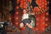 27/09/07 Conf. stampa della trasmissione di raiuno BALLANDO CON LE STELLE nelle foto: Irene Pivetti e Mauro Rossi