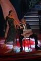 29/09/07 OMEGA/Gioia BotteghiPrima puntata di BALLANDO CON LE STELLE, nelle foto: Ivan Zazzaroni e Natalia Titova