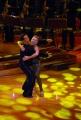29/09/07 OMEGA/Gioia BotteghiPrima puntata di BALLANDO CON LE STELLE, nelle foto: Irene Pivetti e Mauro Rossi