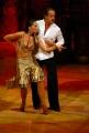 29/09/07 OMEGA/Gioia BotteghiPrima puntata di BALLANDO CON LE STELLE, nelle foto: Massimo Lopez e Serena Lecca