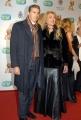 20/01/08 passerella dei Telegatti Roma, nella foto Gabriella Carlucci con marito