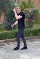 21/01/08 presentazione del film SCUSA MA TI CHIAMO AMORE a Roma nel liceo Giulio Cesare, nella foto:  Davide Rossi  ( Figlio di Vasco Rossi )