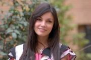 21/01/08 presentazione del film SCUSA MA TI CHIAMO AMORE a Roma nel liceo Giulio Cesare, nella foto:  Michela Quattrociocche