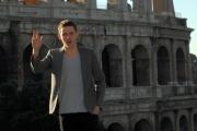 carlo mattoni/markanews 6/02/08 roma presentazione del film -jumper- nella foto:  Jamie Bell