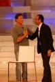 Gioia Botteghi/OMEGA 7/02/08 trasmissione rai i migliori anni della nostra vita con Carlo Conti e Silvester Stallone