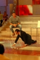 mattoni/markanews 7/02/08 trasmissione rai i migliori anni della nostra vita con carlo conti e silvester stallone