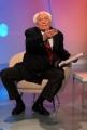 carlo mattoni/markanews 15/02/08 marco pannella ospite della trasmissione rai  - 1 mattina - intervistato da duilio gianmaria ed elisa ansaldo urla e parolacce per il mancato faccia a faccia con ferrara