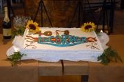 carlo mattoni/markanews 7/03/08 presentazione  del programma - la corrida - vengono festeggiati , su un barcone sul tevere a Roma, anche i 40 anni dalla prima messa in onda radiofonica
