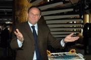 carlo mattoni/markanews 7/03/08 presentazione  del programma - la corrida - vengono festeggiati , su un barcone sul tevere a Roma, anche i 40 anni dalla prima messa in onda radiofonica, nelle foto jerri scotti