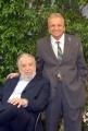 mattoni/markanews 4/06/08 roma, incontro stampa per la fine delle riprese del film _ il papà di giovanna_ nella foto: pupi avati e il fratello produttore antonio avati