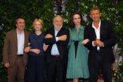 mattoni/markanews 4/06/08 roma, incontro stampa per la fine delle riprese del film _ il papà di giovanna_ nella foto: ezio greggio, rohrwacher, orlando,  avati, neri,