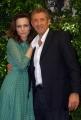 mattoni/markanews 4/06/08 roma, incontro stampa per la fine delle riprese del film _ il papà di giovanna_ nella foto: ezio greggio, francesca neri,