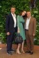 mattoni/markanews 4/06/08 roma, incontro stampa per la fine delle riprese del film _ il papà di giovanna_ nella foto: ezio greggio, francesca neri, silvio orlando